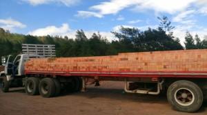 Entrega de productos - Arcillas San Mateo Colombia